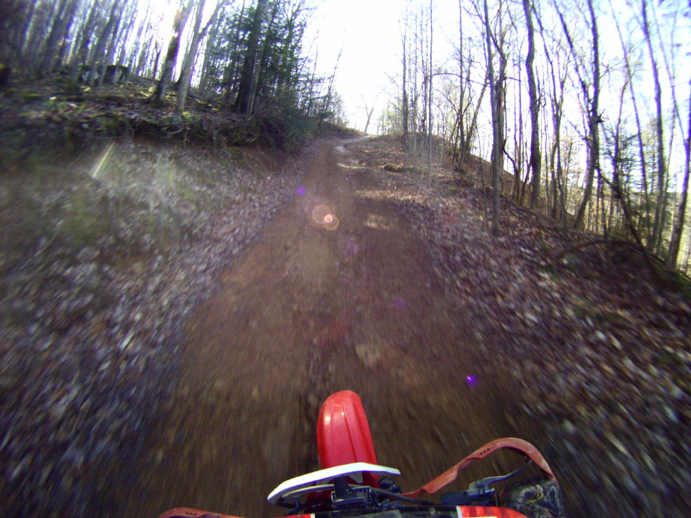 Off road atv dirt bike trails riding coal creek tn atv for Tn fishing license cost